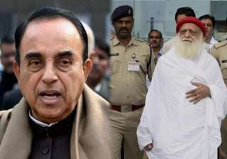 subramanian swamy to fight asaram bapu s case -...