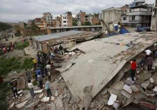 entire himalayan region vulnerable to quakes says...