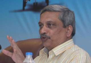 defence minister parrikar to attend floating out...