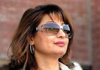 not aware if sunanda was suffering from any...