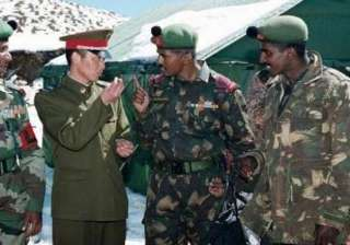 india china troops hold bp meeting in ladakh...