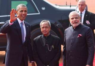 it s a great honour to be back in india barack...