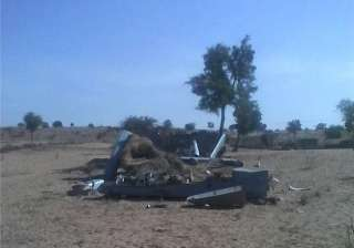 indian air force s uav crashes in barmer - India...