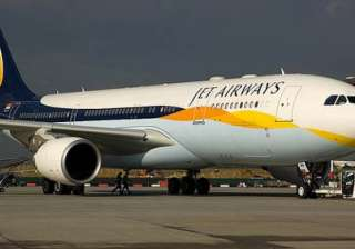 jet airways plane makes emergency landing...