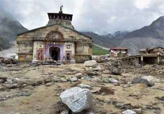 reconstruction work in kedarnath to be completed...