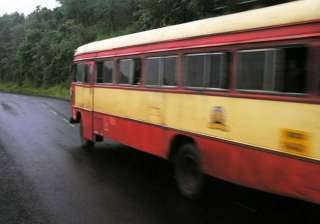 nine killed as bus catches fire in up - India TV