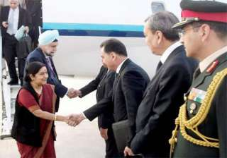 sushma in turkmenistan co chairs joint commission...