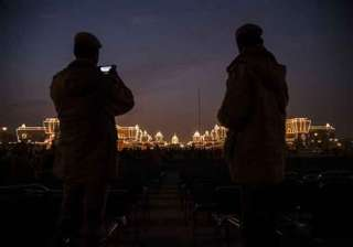 indian tunes dominate beating retreat ceremony -...