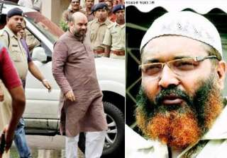 amit shah faces threat from gangster wahab in...
