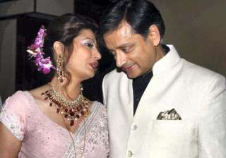 you are finished sunanda threatened tharoor...