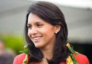 india us moving in the right direction tulsi...
