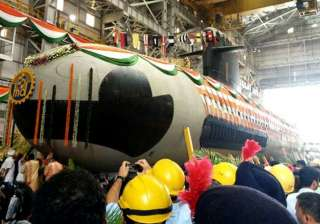 india s first indigenously built scorpene...