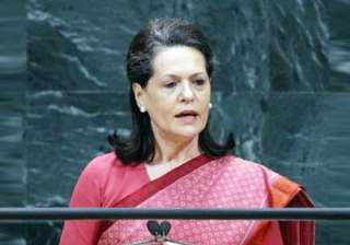 sonia says those guilty of corruption in games...