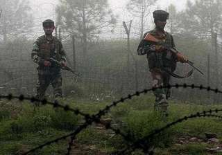 firing exchanges between bsf pak rangers in samba...