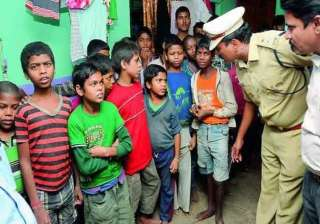 police 350 child labourers rescued from hydrabad...