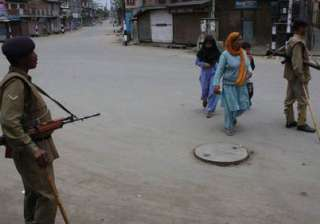 one killed in valley curfew in force in eight...