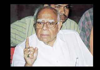 jethmalani mulls review plea against cbi probe in...