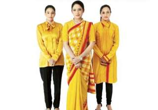 air india soon to drape its crew in bright...