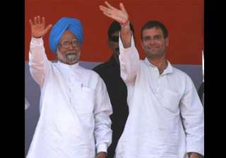 rahul meets pm over land acqusition in up targets...