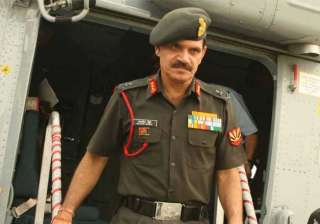 peace in kashmir has to be maintained army chief...