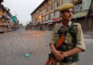 kashmir valley by and large peaceful - India TV