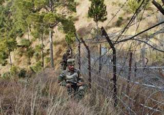 no fresh ceasefire violation by pakistan around...