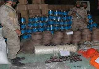 huge quantity of explosives seized in jharkhand -...