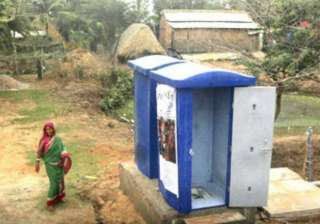 people in no toilet villages indirectly consuming...
