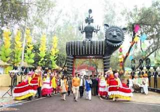surajkund international crafts mela begins...