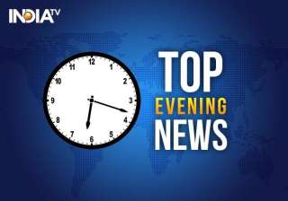 five major news headlines of the day - India TV