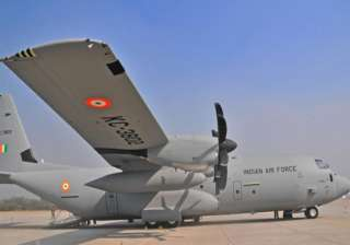 india sends 4 aircraft with relief supplies team...
