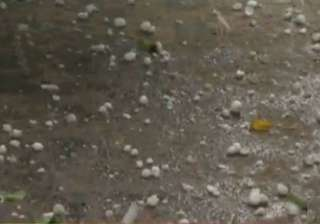 rain hailstorm intensify cold wave in agra -...