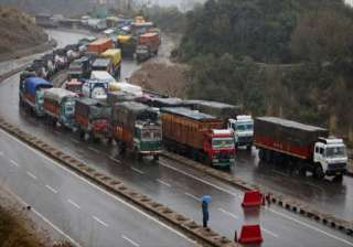 jammu srinagar national highway shut for fourth...