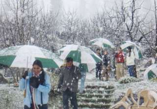 himachal slightly warmer snowfall in store -...