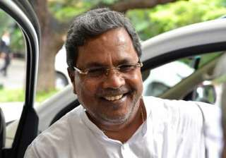 anxious moments as fire noticed in karnataka cm s...