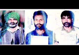 bangalore police on look out of 3 pak terrorists...