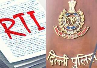 rtis weighing down delhi police department more...