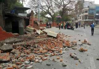 17 dead 48 injured in earthquake in bihar - India...