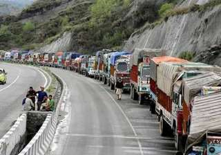 jammu srinagar national highway shut passengers...