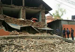 two aftershocks felt in india nepal - India TV