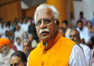 haryana cm underlines plans for better...