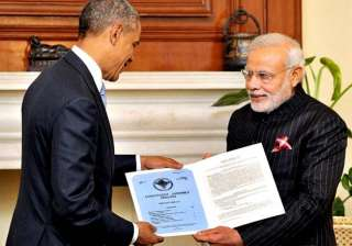 obama in india india us renew defence pact with...