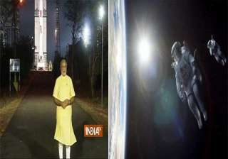 narendra modi says our mars mission cost less...