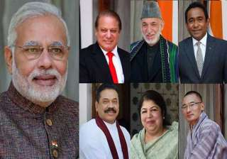 inviting saarc leaders sent out a message to...