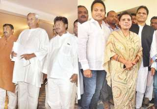 jmm leaders congress leader gamang s wife join...