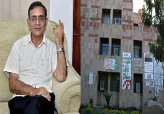 jnu v c promises action against molester of...