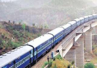 jammu udhampur rail traffic disrupted for second...