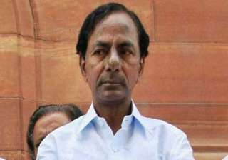 k chandrasekhar rao asks officials to work out...