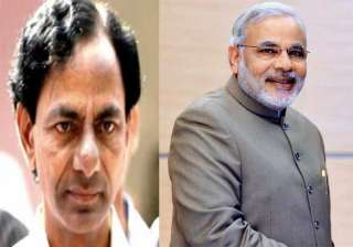 kcr meets pm seeks special status for telangana -...