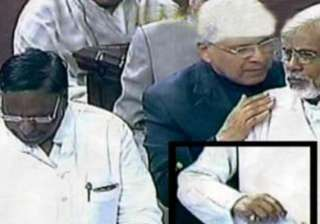 lalu did not tutor me to tear lokpal bill rajniti...